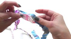 Turn that big pile of fabric scraps into handmade scrap fabric twine. A strong recycled fabric rope that can be used for all sorts of craft projects. Fabric Yarn, Fabric Scraps, Scrap Fabric, Diy Projects To Try, Craft Projects, Sewing Projects, Sewing Hacks, Sewing Crafts, Bordados E Cia