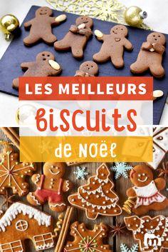 Les meilleurs biscuits de Noël #ElleHabiteLa #Marmiton #Aufeminin #Noël #recette