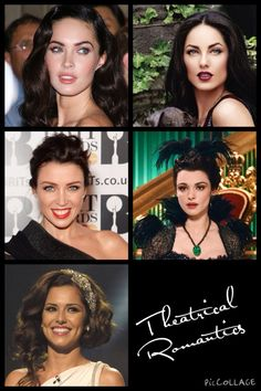 Kibbe•Theatrical Romantics• Megan Fox, Barbara Mori, Dannii Minogue, Rachel Weisz, Cheryl Cole