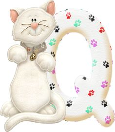 Alfabeto con gatito...Q.png (357×411)