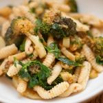 Cavatelli with Slow Roasted Broccoli and Harissa
