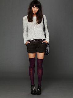 plum stockings