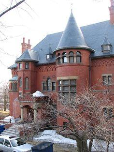 """""""Ardvarna"""" Lady Meredith House, Montréal, Québec. Canada"""
