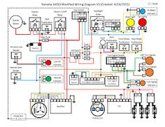 motorcycles yamaha xj maxim wiring diagram well detailed wiring rh flyvpn co