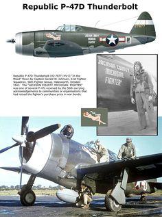 P-47D Thunderbolt .