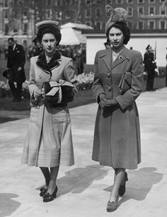 1948: The first rule of being a royal is to have the best fascinators in the game, and clearly then Princess Elizabeth did.