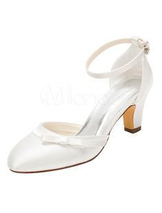 Brautschuhe Rainbow Club Valencia ivory Peeptoes Satinn Wedding Shoes 36 37,5