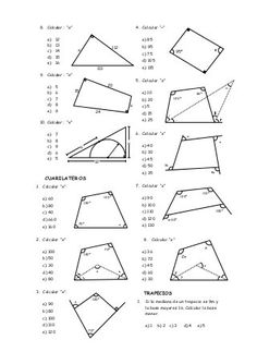 Area of Compound Shapes Adding and Subtracting Regions