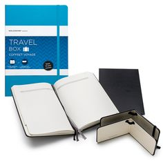 moleskin travel set: travel journal and two luggage tags