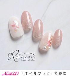 Discover new and inspirational nail art for your short nail designs. May Nails, Pink Nails, Hair And Nails, Classy Nails, Cute Nails, Pretty Nails, Bridal Nails, Wedding Nails, Short Nail Designs