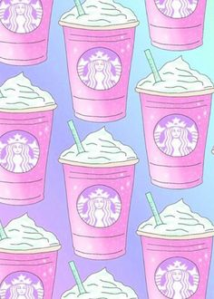 Find images and videos about pink and starbucks on We Heart It - the app to get lost in what you love. Cute Girl Wallpaper, Cute Wallpaper For Phone, Kawaii Wallpaper, Cute Wallpaper Backgrounds, Ipod Backgrounds, Iphone Wallpaper Herbst, Emoji Wallpaper Iphone, Fall Wallpaper, Disney Starbucks
