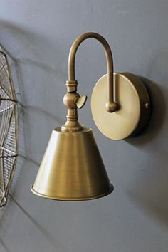 Beautiful Brass Wall Light - View All - Lighting