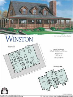 montgomery log home and log cabin floor plan would be great for