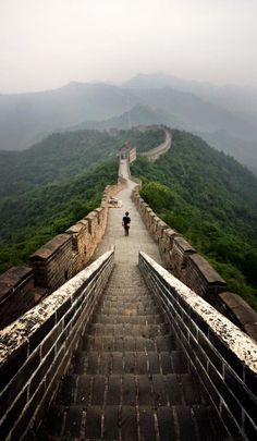 The Great Wall, Beijing, China ♥