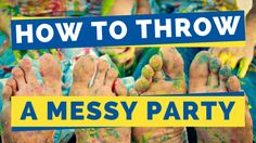 Are your kids bored already this summer? The Maids shakes it up by showing how to throw a messy party with the best messy party games.