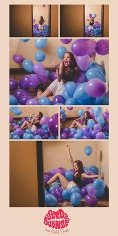 Fotografias e álbuns de 15 anos! 15 anos - fotografia de 15 anos - fotos de 15 anos - 15th birthday - Baloes - Coloridos