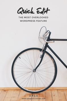 Increase your blogging efficiency with quick edit: the most overlooked feature in WordPress