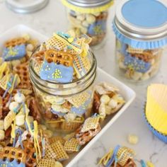Simple and delicious SNACK MIX RECIPE perfect for back to school!