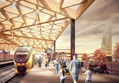 The new Ede Wageningen Train Station will be a place where thousands of commuters easily find their way. The gateway to the Veluwe National Park, it will also be a remarkable introduction to the city of Ede. The transport hub has been designed to respond to the growth in passenger numbers and make...
