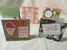 Mashed Potatoes and Crafts: Lovin' the Mini Cards