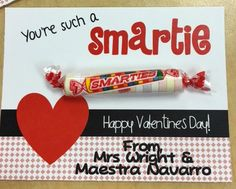 Cute student valentines!