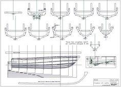 Plans en ligne / on line plans – Plans bateaux modelisme Online- / Online-Pläne – Musterpläne für Boote Wooden Speed Boats, Wood Boats, Wooden Boat Building, Boat Building Plans, Yacht Design, Boat Design, Sailboat Yacht, Model Ship Building, Model Boat Plans