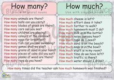 Forum   ________ English Vocabulary   Fluent LandHow Many vs How Much   Fluent Land