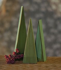 Set of Three Reclaimed Wood Christmas Trees.. Rustic Primitive Christmas Decorations. Featured on Handmadeology and Etsy Editors picks! Adorable