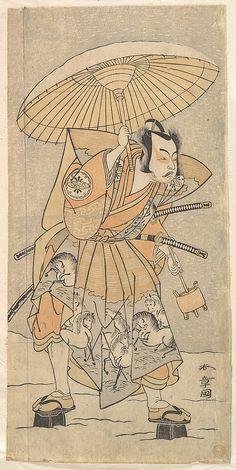 The Second Nakamura Juzo as a Samurai Katsukawa Shunshō (Japanese, 1726–1792)