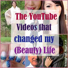 Promising Beauty: The YouTube Videos that Changed my [Beauty] Life! A list of the beauty gurus, YouTubers and even fashion favourites who made the videos that stuck with me. Manicures, DIY beauty recipes, fashion, Autumn make-up and skincare advice. Promisingbeauty.blogspot.com