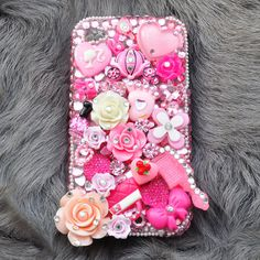 iphone Swarovski Case For iphone 4 and iphone 4S by DemiGoddessCo