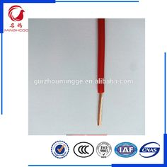 BVR2.5mm red color PVC insulated Single core copper electronic cables electrical wire electric wire  sc 1 st  Pinterest : house wiring prices - yogabreezes.com