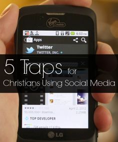 5 Traps for Christians Using Social Media Social Media Safety, Internet Safety Tips, Christians, Need To Know, Told You So, Teen, Advice, App, Reading