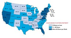 How Many Minimum Wage Hours Does It Take To Afford A Two-Bedroom Apartment In Your State