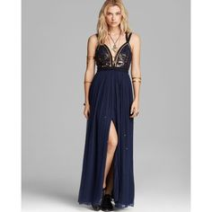 Free People Dress - Golden Chalice