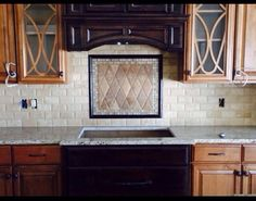 A recent backsplash by Extreme Tile (Dave Snipp) in a Meridian Construction home.