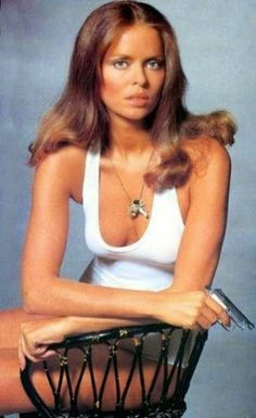 Barbara Bach (born Barbara Goldbach; August 27, 1947) is an American actress and model known as the Bond girl Anya Amasova from the James Bond film The Spy Who Loved Me (1977). Description from imgarcade.com. I searched for this on bing.com/images