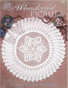 Wonderful Doilies digital .pdf  by Patricia Kristoffersen (five patterns) (home decor; victorian decor)