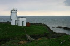 "Elie Ness Lighthouse · Fife coast  from Firth of Forth · Scotland (Pos.: 56°11""2'N 2°48""46'W)"