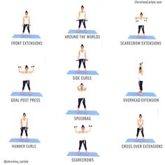 Arms Workouts at Home