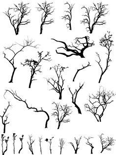 Dead Tree Silhoutte Clip Art | HD Walls | Find Wallpapers