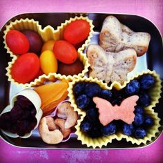 Add color and variety to healthy meals and snacks for work, school, anywhere on the go. Get inspired with dozens of fresh colorful LunchBots Ideas. Baby Food Recipes, Whole Food Recipes, Snack Recipes, Healthy Recipes, Snacks, Healthy Food, Healthy Meals For Kids, Kids Meals, Summer Food Kids