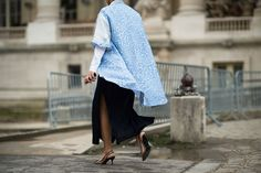 Outside the Spring 2014 Couture Fashion Shows  - Paris Haute Couture Spring 2014: Day 2