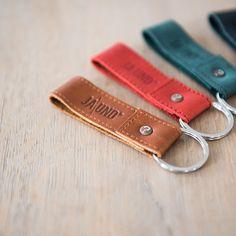 Schlüsselanhänger aus Leder von JA\UND?