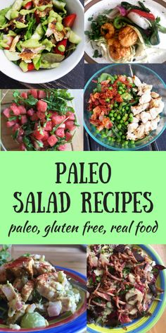 The Ultimate Paleo Salad Recipes Round Up! Oh Snap! Let's Eat! The Ultimate Paleo Salad Recipes Round Up! Oh Snap! Let's Eat! Paleo Fall Recipes, Summer Salad Recipes, Summer Salads, Real Food Recipes, Healthy Recipes, Healthy Summer, Clean Recipes, Healthy Meals, Healthy Life