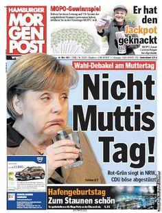 Nicht Muttis Tag! #Merkel