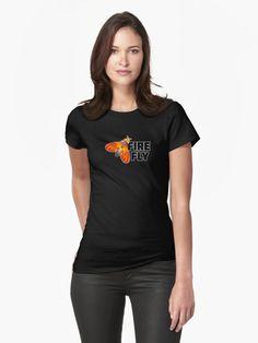 FireFly Design Womens T-Shirt Front