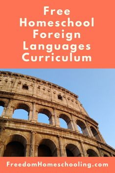 Freedom Homeschooling - Free Homeschool Foreign Languages
