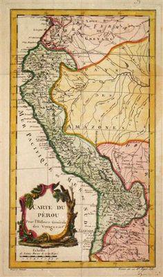 Map of Peru - 1755 http://www.america.de/suedamerika/peru