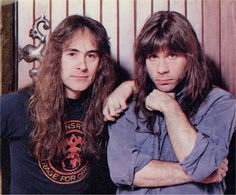 Steve Harris Bruce Dickinson, Iron Maiden